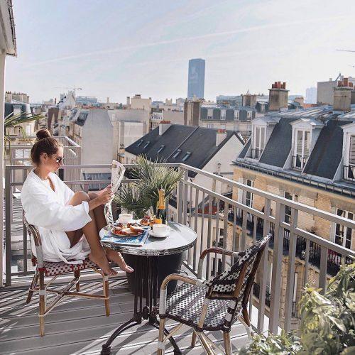 the best terrace paris